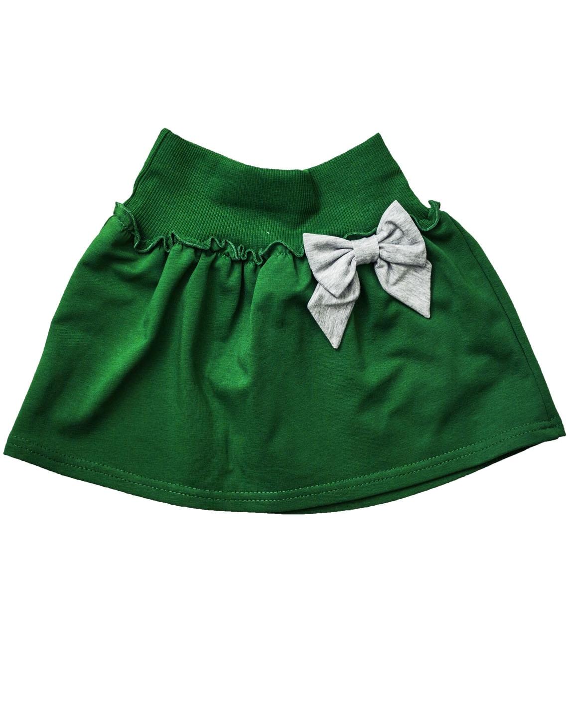Зеленая юбка детская